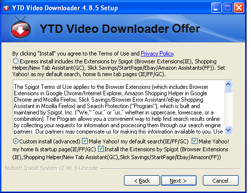 Downloader Offer